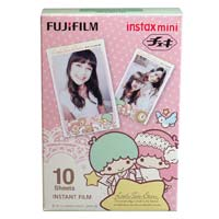 Fujifilm instax mini Film Little Twin Stars 富士即影即有菲林相紙 雙子星