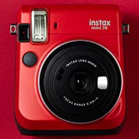 富士即影即有相機 mini 70 紅色 Fujifilm instax mini 70 Red