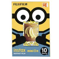 Fujifilm Instax Mini Film Minions Yellow Box 富士即影即有相紙菲林 迷你兵團